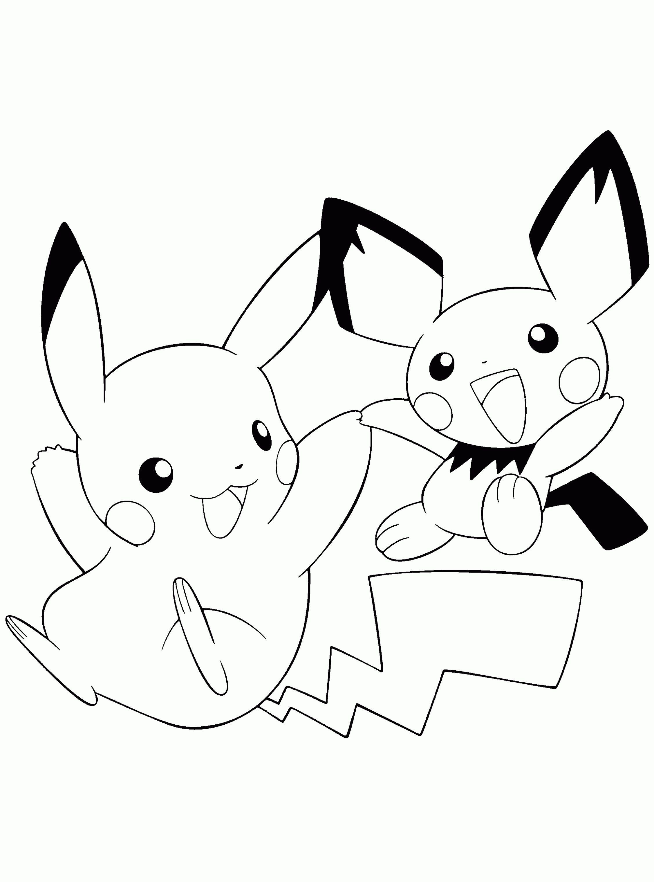 ▷ Dibujos para colorear de Pokemon, pintar e imprimir